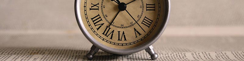 Image of an Old Clock